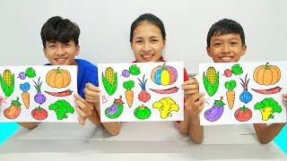 Download 9 vegetables, Warna Warni Belajar Menggambar dan Mewarnai untuk Anak Video