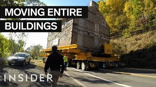Download How Entire Buildings Are Moved Video