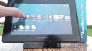 Download BlackBerry 10 Working On The PlayBook Video