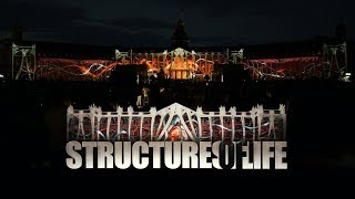 Download Structures of Life - Projection Mapping on Palace of Karlsruhe for Schlosslichtspiele 2017 (4K) Video