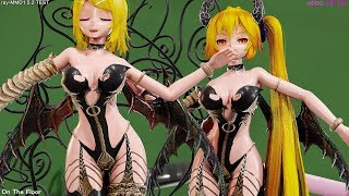 Download 【Ray-MMD】Tda Succubus RIN & NERU [On The Floor]【4K/60fps】 Video