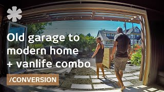 Download Couple makes garage home + campervan a consistent life combo Video