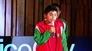 Download Sergio Zúñiga y niños triquis] | TEDxYouth@MexicoCity 2014 Video