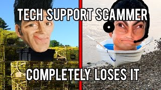 Download Microsoft Tech Support Scammer Loses His Sh*t - The Hoax Hotel Video