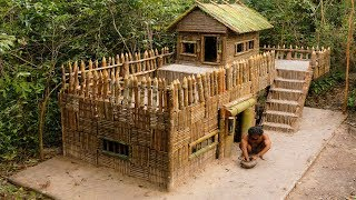 Download Building Most Beautiful Greatness Survival Villa House On The Biggest Villa Video