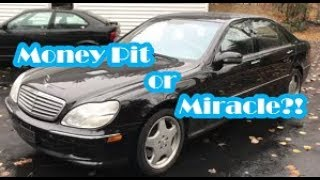 Download I Bought A 2002 Mercedes S600 V12 For $1?! Video