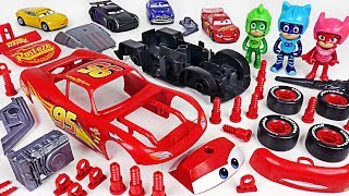 Download PJ Masks! Fix the broken Disney Cars 3 Lightning McQueen with Model Assembly Kit! - DuDuPopTOY Video