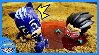Download PJ Masks Catboy saw water ghost. The adventure of a Haunted place. Video