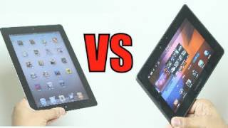 Download Blackberry Playbook vs iPad 2: Showdown Video