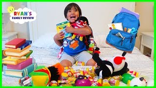 Download WHAT'S IN MY BACKPACK 2018??? Back To School Challenge with Ryan's Family Review!!! Video