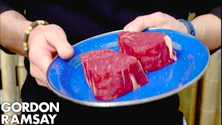 Download Gordon Cooks Steak For A Vegetarian - Gordon Ramsay Video