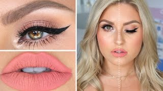 Download High End VS Drugstore Makeup! ♡ Full Face Dupes Makeup Tutorial Video