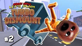 Download Turbo Dismount #2: More Explosions! [Midget Apple Plays] Video