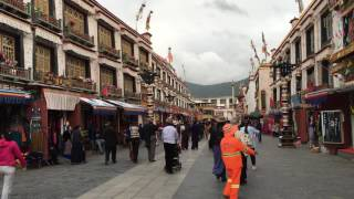 Download A walk in Tibet - Lhasa around Jokhang temple -Just a view- Video