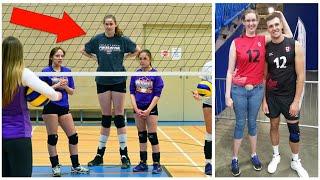 Download 211cm Tall Volleyball Player Miranda Weber (HD) Video