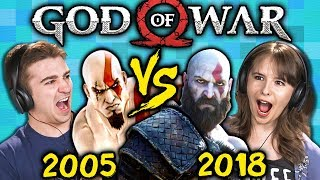 Download GOD OF WAR Old Vs. New (2005 Vs. 2018) (React: Gaming) Video