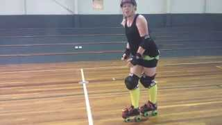 Download Roller Derby Lessons Fresh Meat Crossovers Lesson 8 - By PipSquish Video
