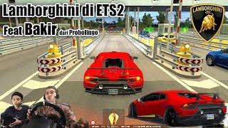 Download Mencoba Mobil Balap Lamborghini Huracan di ETS2 Video