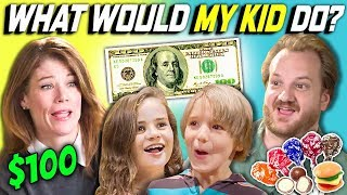 Download CAN PARENTS GUESS WHAT THEIR KID DOES WITH $100? Ep. # 5 Video