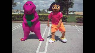 Download POOCH YAE by BARNEY AND DORA THE EXPLORER DANCE Video