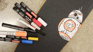 Download How To Paint Art On Your Grip Tape Video