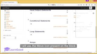 Download Moodle 3.0 Tutorial for Beginners - Add a Calendar Block Video