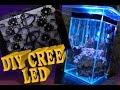 Download DIY LED light on Fluval Chi saltwater tank - Rapid LED Video