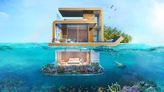 Download Floating Seahorse Villa Dubai فيلا تحت الماي في دبي سعرها١٢ مليون Video