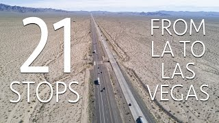 Download 21 Road Trip Stops From Los Angeles to Las Vegas Video