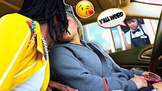 Download Making Awkward Situations at Drive Thru's Video