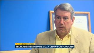 Download Tech abilities in Dane County a draw for Foxconn Video