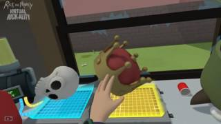 Download GameCrate Plays: Rick and Morty: Virtual Rick-ality (Combining items) Video