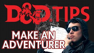 Download D&D Tips: Make an Adventurer! Video