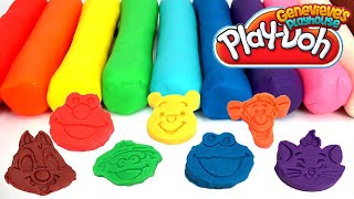 Download Learn Colors Play Doh Cartoon Molds - Best Learning Videos for Babies Elmo, Mickey, Hello Kitty Video
