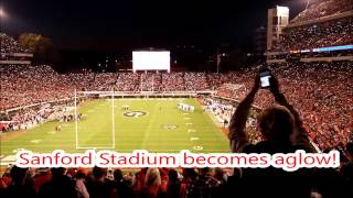 Download Sanford Stadium 4th Quarter Lights vs. Auburn 11/12/16! Video