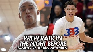 Download LaMelo Ball VS Julian Newman GAME EPISODE!! Preparing For Biggest HS Game EVER! The Night Before Video