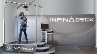 Download The NEW Infinadeck - CES 2016 Video