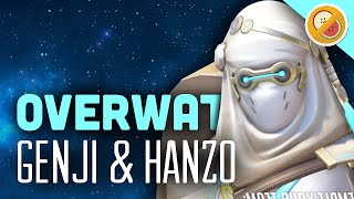 Download Genji and Hanzo - Overwatch (Gameplay Funny Moments) Video