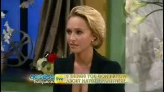 Download Hayden Panettiere Interview on Access Hollywood Live Video