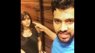 Download Rohit Sharma And His Wife Ritika Sajdeh Funny Video || Rohit Sharma And Ritika Sajdeh Video