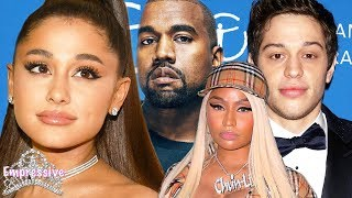 Download Ariana Grande's messy drama with Pete Davidson, Kanye West, and Nicki Minaj! Video
