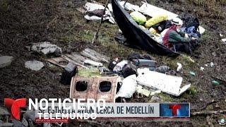 Download Trágico accidente aéreo en Colombia enluta al fútbol | Noticiero | Noticias Telemundo Video