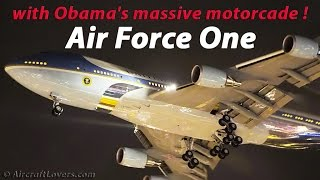 Download Air Force One│Barack Obama arriving in Germany Berlin│16.11.16 Video