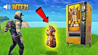 Download GAUNTLET IN VENDING MACHINE..?! FORTNITE FAILS & Epic Wins! #12 (Fortnite Battle Royale Funny Moment Video