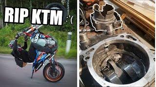 Download R.I.P KTM | KTM 450 Engine DESTROYED Video