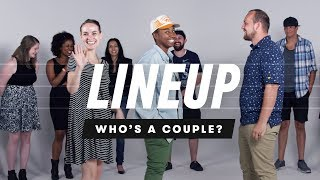 Download People Guess Who's a Couple from a Group of Strangers | Lineup | Cut Video