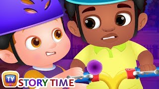 Download Chika Learns To Ride A Bike - ChuChuTV Good Habits Moral Stories for Kids Video