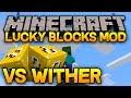 Download Minecraft - LUCKY BLOCKS - WITHER TAISTELU!! Video