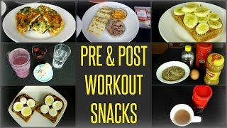 Download 10 Best Pre & Post Workout Meals / Snacks Video