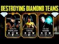 Download MK Mobile. INSANE Power Team with Awesome Synergy! Beats ANY DIAMOND TEAM! Video